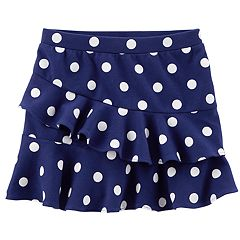 Toddler Girl Carter's Polka-Dot Ruffled Skort