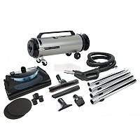 MetroVac Professional Evolution 2-Speed Power Nozzle Canister Vacuum (ADM4PNHSNBF)