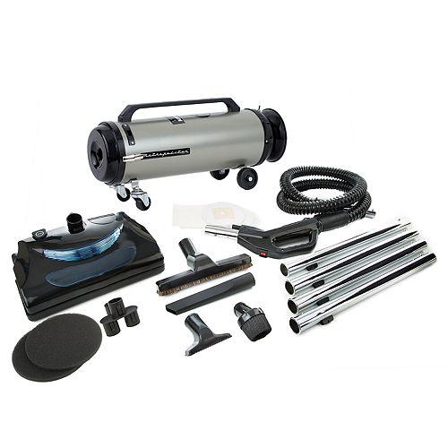 MetroVac Professional Evolution 2-Speed Power Nozzle Canister Vacuum (ADM4PNHSNBF)