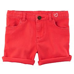 Toddler Girl Carter's Rolled-Hem Shorts
