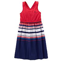 Toddler Girl Carter's Patriotic Striped Dress