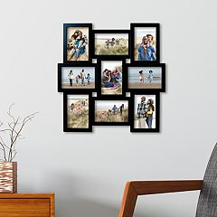 Melannco Black 9-Opening 4' x 6' Collage Frame