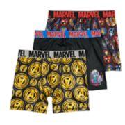 Boys Avengers 3-Pack Boxer Briefs