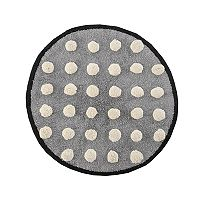 HipStyle Shay Circle Tufted Bath Rug