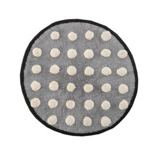 HipStyle Shay Circle Tufted Bath Rug