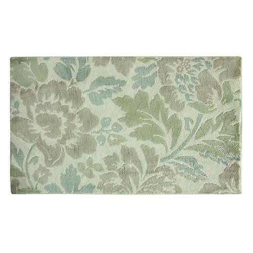 Bacova Cashlon Milady Floral Microfiber Rug