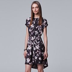 Petite Simply Vera Vera Wang High-Low Shirtdress