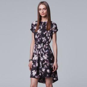 Petite Simply Vera Vera Wang High-Low Shirtdress