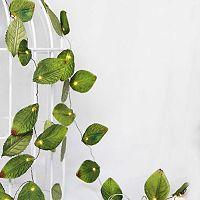 Manor Lane 10-ft. Artificial Leaf String Lights