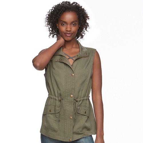 Juniors' Mudd® Utility Vest