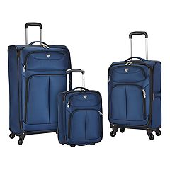 Travelers Club Hartford 3-piece Luggage Set