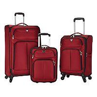 Travelers Club Hartford 3 pc Luggage Set