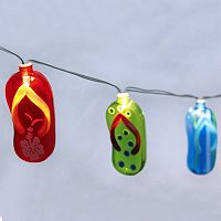 Manor Lane 10-ft. Flip-Flop String Lights