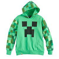 Boys 8-20 Minecraft Creeper Hoodie