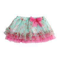 Baby Girl Baby Starters Floral Ruffled Tulle Tutu