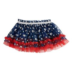 Baby Girl Baby Starters Patriotic Ruffled Tulle Tutu