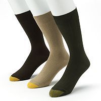 Men's GOLDTOE 3 pkPatterned Dress Socks