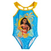 Disney's Moana Toddler Girl One-Piece Swimsuit