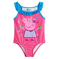Toddler Girl Peppa Pig 1 pc Swimsuit