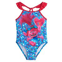 Toddler Girl DreamWorks Trolls 1 pc Swimsuit