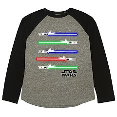 Boys 8-20 Star Wars Light Sabers Tee