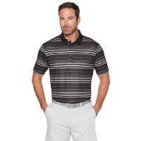 Men's Grand Slam Printed Stripe Polo