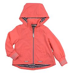 Baby Girl OshKosh B'gosh® Midweight Coral Jacket