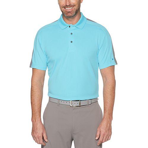 Men's Grand Slam Colorblock Golf Polo