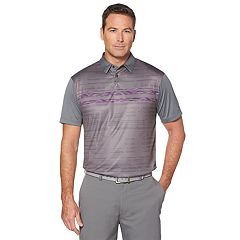 Men's Grand Slam Printed Space Dye Polo