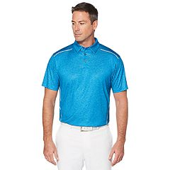 Men's Grand Slam Body Map Printed Golf Polo