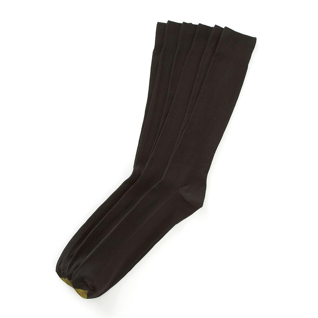 Extended Size GOLDTOE 3-pk. Metropolitan Dress Socks