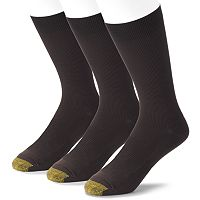 Extended Size GOLDTOE 3 pkMetropolitan Dress Socks