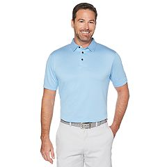 Men's Grand Slam Jacquard Polo