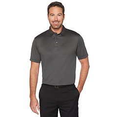 Men's Grand Slam Jacquard Golf Polo