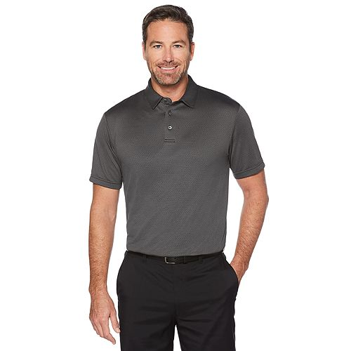 Men's Grand Slam Jacquard Golf Polo