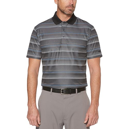 Men's Grand Slam MotionFlow Ombre Jacquard Performance Golf Polo