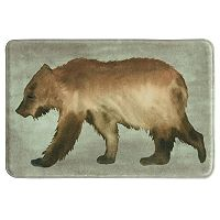 Bacova Bear Memory Foam Bath Rug