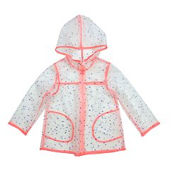 Baby Girl OshKosh B'gosh® Hooded Lightweight Rain Jacket