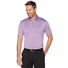 Men's Grand Slam Off Course Championship Striped Golf Polo