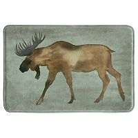 Bacova Moose Memory Foam Bath Rug