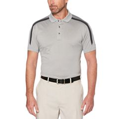 Men's Grand Slam Heathered Cool Fast Golf Polo