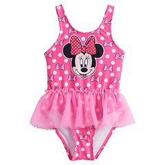 Disney's Minnie Mouse Baby Girl One-Piece Tutu Swimsuit by Jumping Beans®