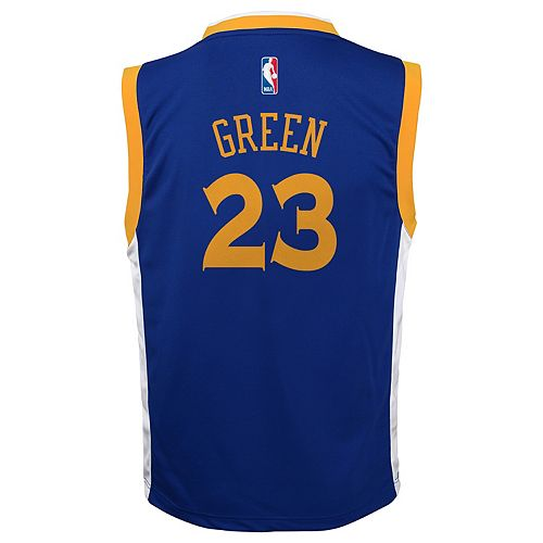 Boys 8-20 Golden State Warriors Draymond Green Replica Jersey