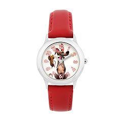 Disney•Pixar Coco Kids' Dante Leather Watch