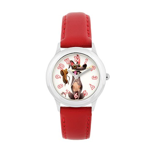 Disney•Pixar Coco Kids' Dante Leather Watch