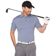 Men's Grand Slam Cool Pass Jacquard Golf Polo