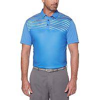 Men's Grand Slam On Course Regular-Fit Americana Striped Performance Golf Polo