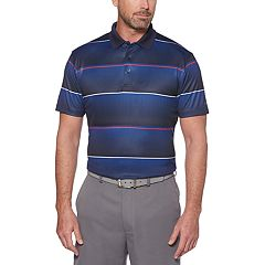 Men's Grand Slam On Course Regular-Fit Americana Striped Performance Golf Polo
