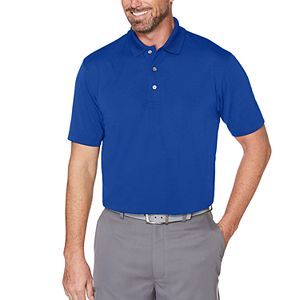 Men's Grand Slam Off Course Slim-Fit Textured Golf Polo