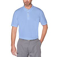 Men's Grand Slam Driflow Mini-Ottoman Textured Performance Golf Polo
